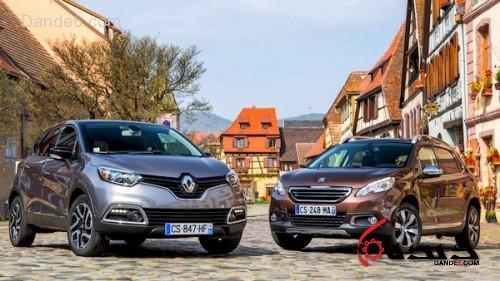 Peugeot-2008-Renault-Captur-France-June-2013.-Picture-courtesy-of-Largus