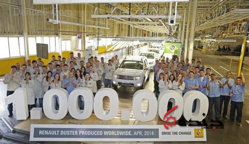 یک میلیون فروش رنو داستر