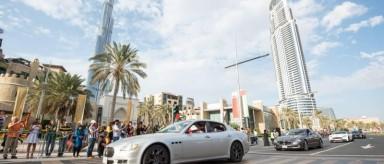 رژه رویایی اعراب با خودروهای میلیون دلاری