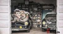 یک انبار خودروهای کلاسیک در فرانسه کشف شد