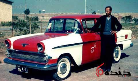 تاریخچه تاکسی در ایران+گالری