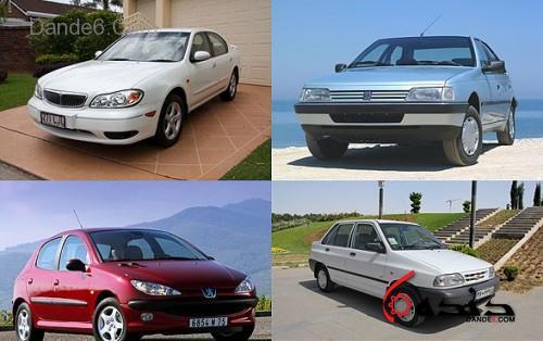 قیمت خودروها در بازار-1