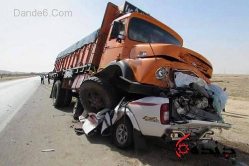 تصادف کامیون-5
