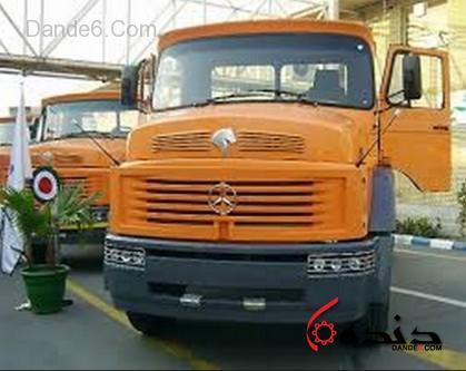 کامیون جدید ایران خودرو