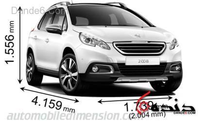 مقایسه ابعادی خودروهای جدید بازار