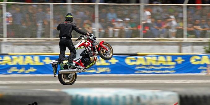 گزارش اولین مسابقه موتور سنگین سال