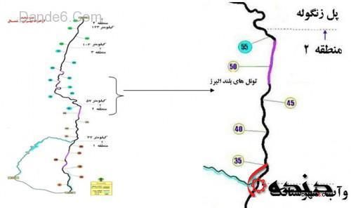 نقشه_منطقه2_تهران_شمال