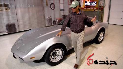 Detroit native George Talley's 1979 Corvette was stolen 33 yea