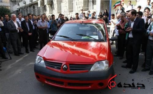 خودرو سلول سوختی ایران-2