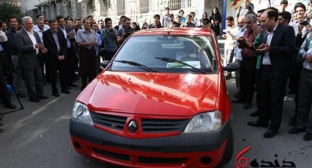 رونمایی از اولین خودرو سلول سوختی ایران