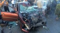مرگ غم انگیز دکتر عزت الله صادقی در تصادف رانندگی+ تصاویر دلخراش