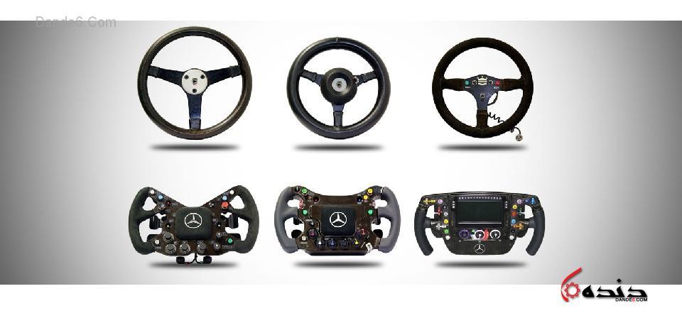 آشنایی تخصصی با عملکرد فرمان خودروهای F1