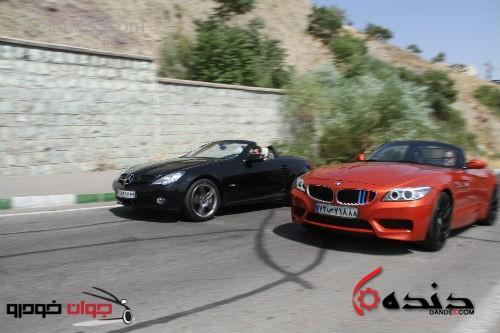 تست-مرسدسبنز-و-BMW-Z4-28i-2