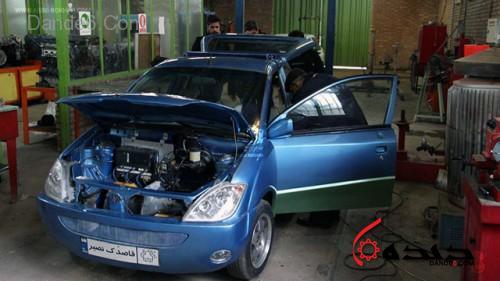 خودرو برقی قاصدک-14