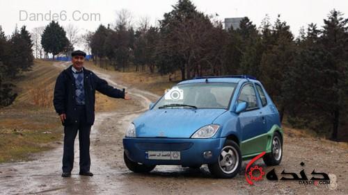 خودرو برقی قاصدک-2