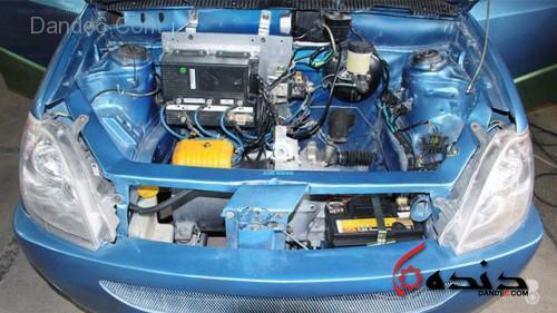 خودرو برقی قاصدک-3
