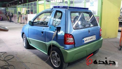 خودرو برقی قاصدک-9