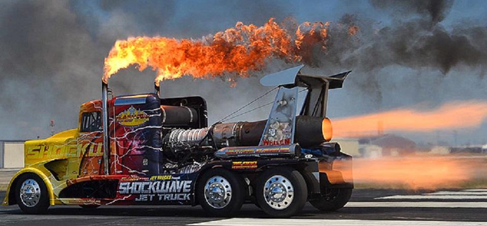 36000 اسب بخار برای سریعترین کامیون جهان