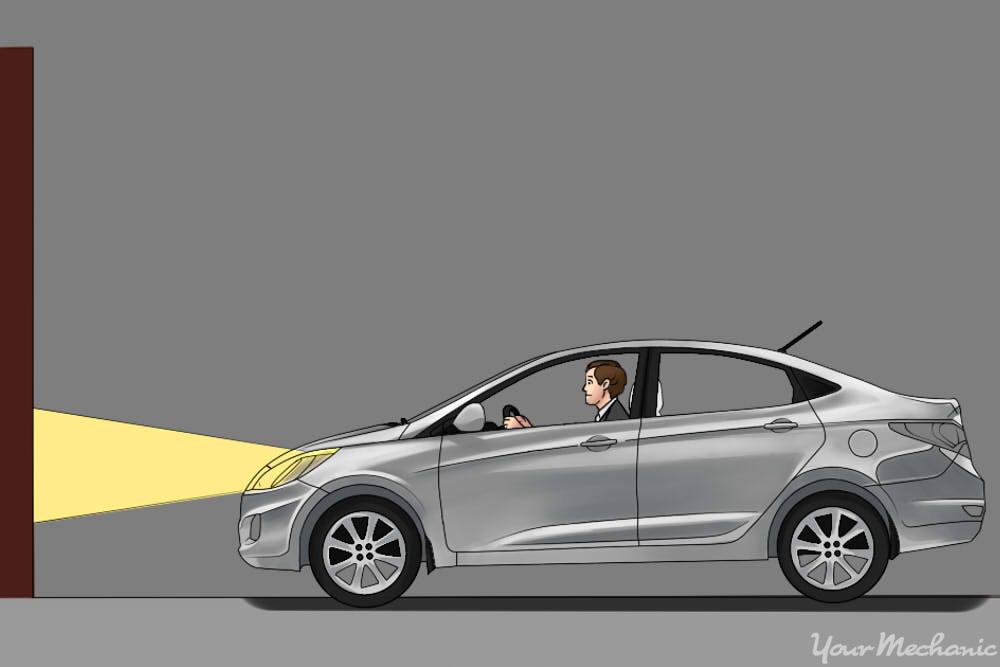 تنظیم درست چراغ خودرو (روش تنظیم چراغ ماشین)