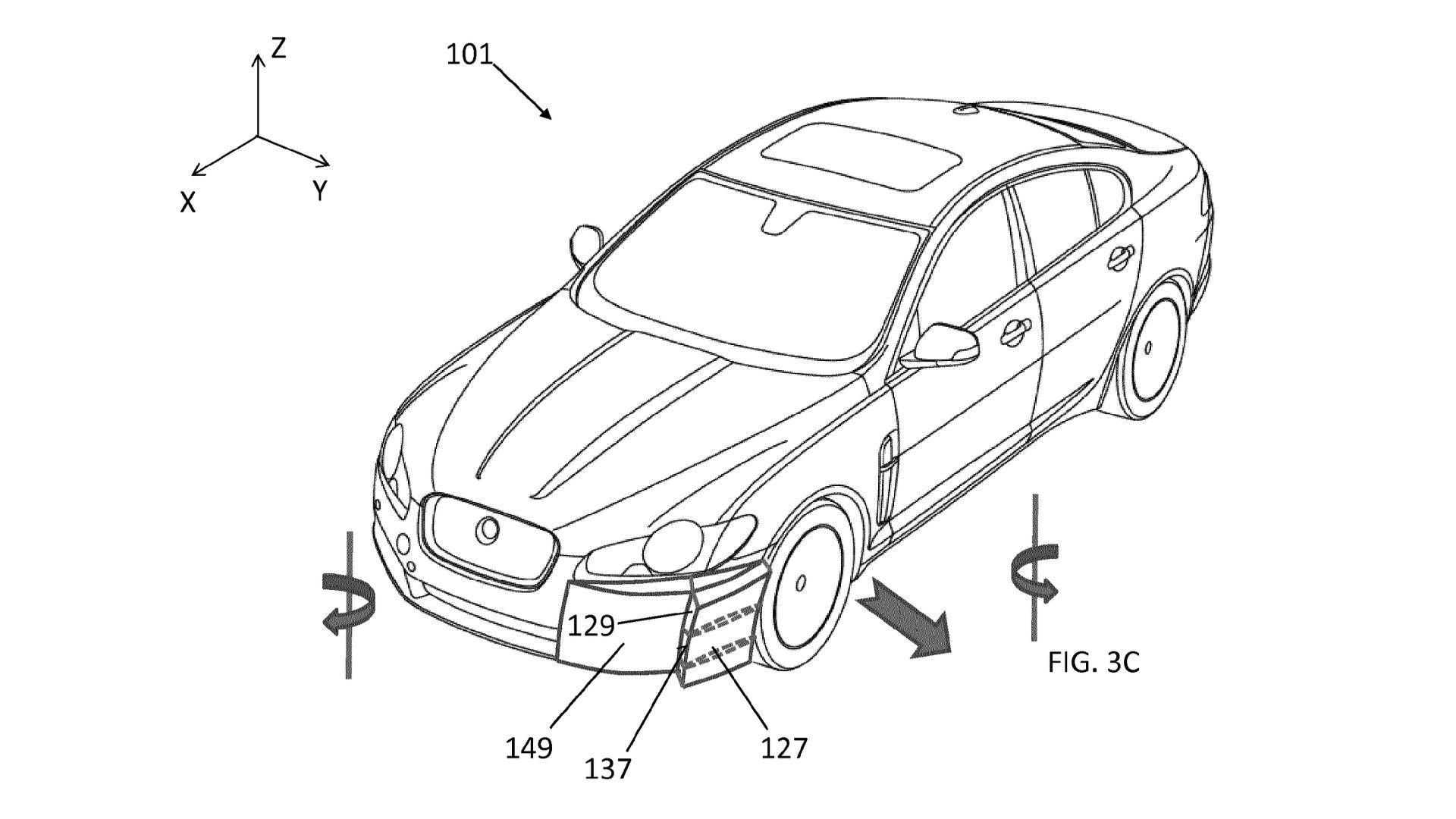 پتنت جدید Jaguar Land Rover: عبور دادن هوا از بدنه خودرو