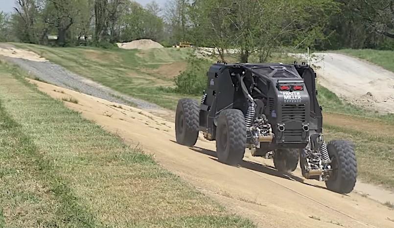 تکنولوژی خودروهای نظامی دارپا